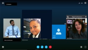 Skype group shot