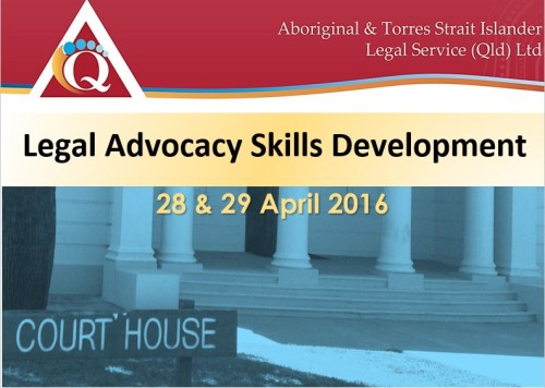 Advocacy Skills Workshop: Brisbane